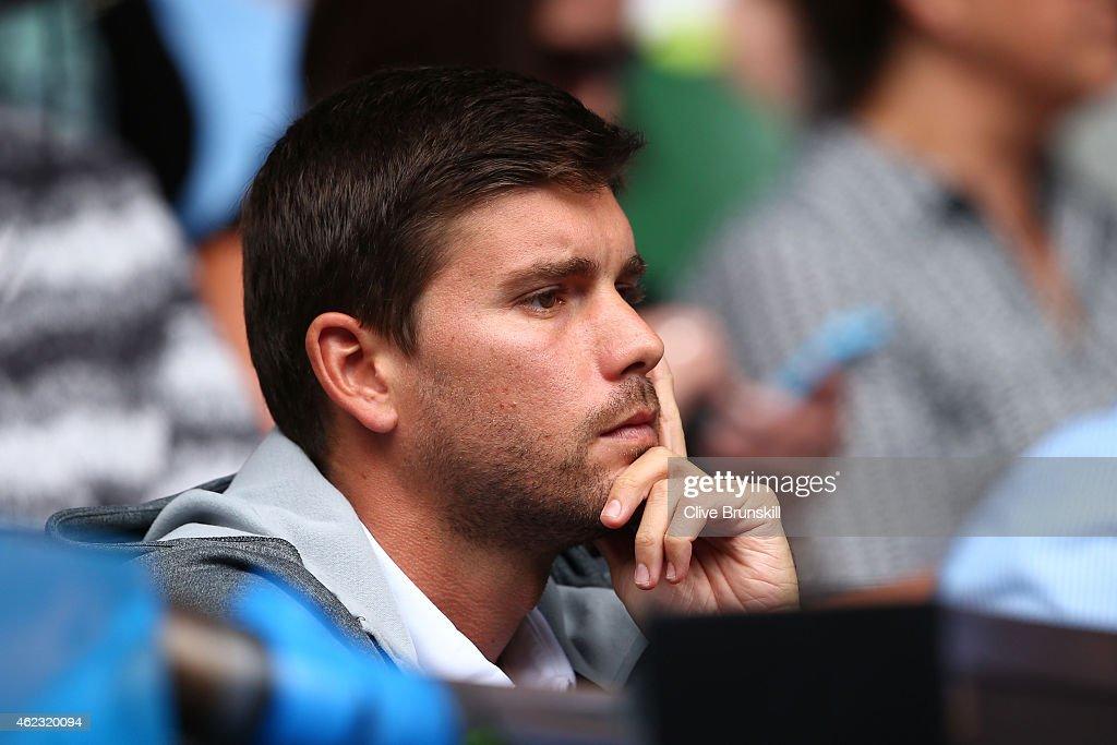 2015 Australian Open - Day 9 : News Photo