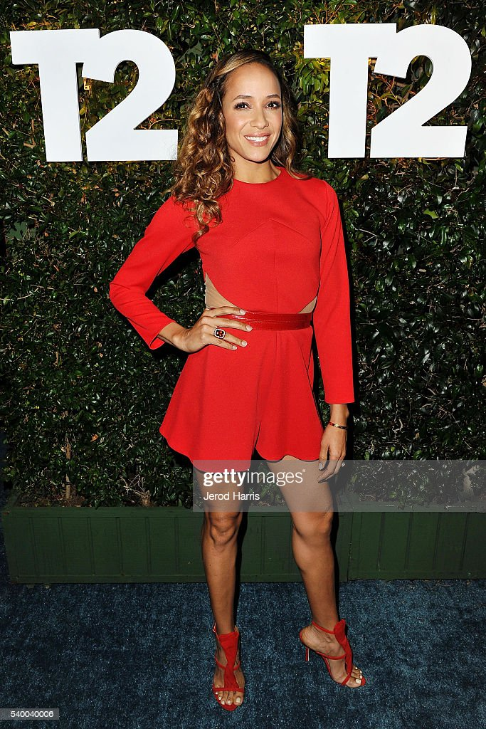 Dania Ramirez arrives at Take-Two's Annual E3 Kickoff Party at Cecconi's Restaurant on June 13, 2016 in Los Angeles, California.