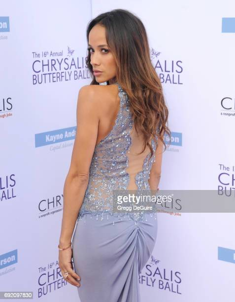 Dania Ramirez arrives at the 16th Annual Chrysalis Butterfly Ball at a private residence on June 3 2017 in Brentwood California