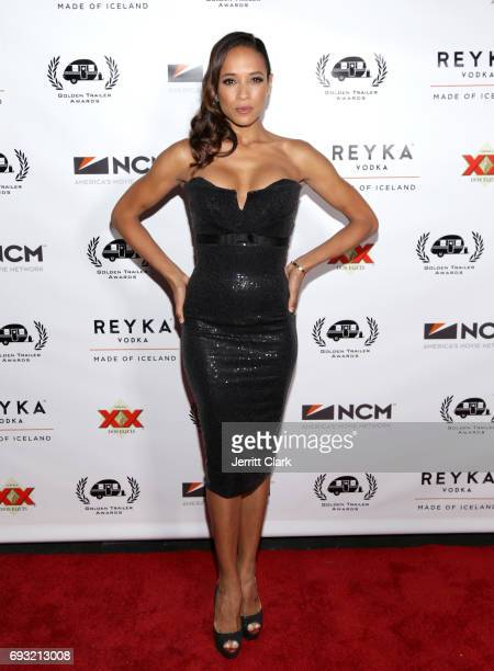 Dania Ramirez arrives at the 18th Annual Golden Trailer Awards at Saban Theatre on June 6 2017 in Beverly Hills California