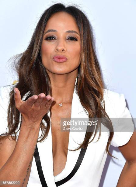 "Dania Ramirez arrives at the Premiere Of Open Road Films' ""The Promise"" at TCL Chinese Theatre on April 12, 2017 in Hollywood, California."