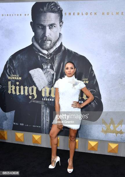 Dania Ramirez arrives at the Premiere Of Warner Bros Pictures' King Arthur Legend Of The Sword at TCL Chinese Theatre on May 8 2017 in Hollywood...