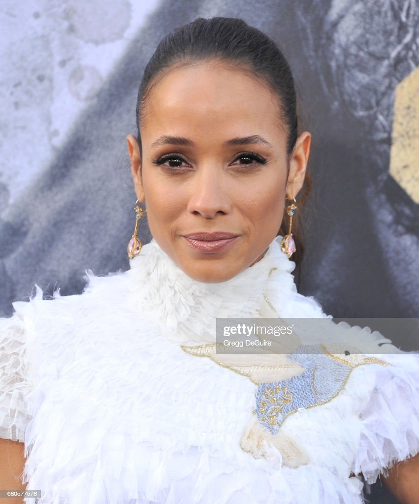 Dania Ramirez arrives at the premiere of Warner Bros. Pictures' 'King Arthur: Legend Of The Sword' at TCL Chinese Theatre on May 8, 2017 in Hollywood, California.