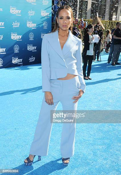 Dania Ramirez arrives at the World Premiere of DisneyPixar's Finding Dory at the El Capitan Theatre on June 8 2016 in Hollywood California