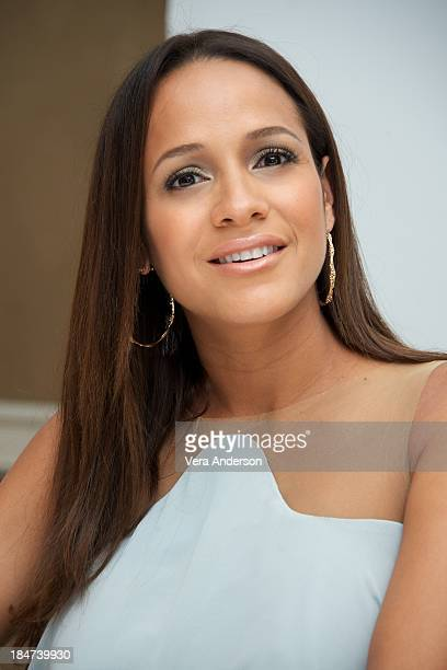 Dania Ramirez at the 'Devious Maids' Press Conference at the Four Seasons Hotel on October 14 2013 in Beverly Hills California