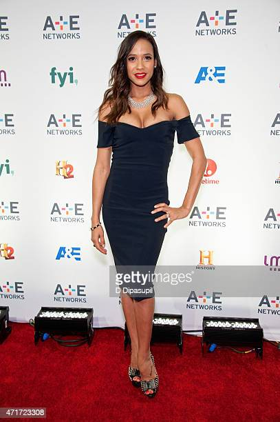 Dania Ramirez attends AE Network's 2015 Upfront at Park Avenue Armory on April 30 2015 in New York City