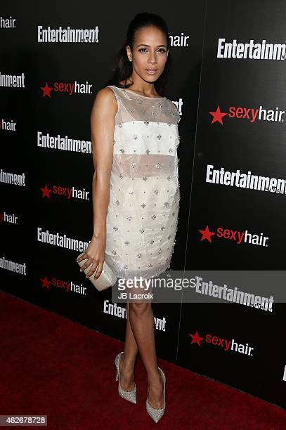 Dania Ramirez attends Entertainment Weekly's celebration honoring the 2015 SAG awards nominees at Chateau Marmont on January 24 2015 in Los Angeles...