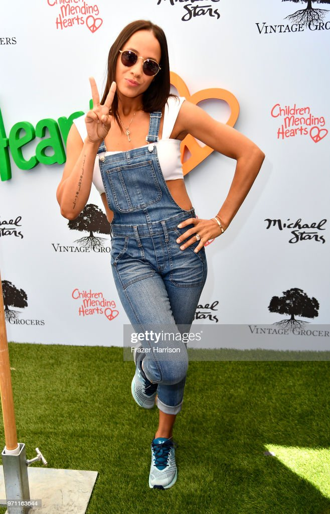 Dania Ramirez attends the 10th Annual Empathy Rocks Fundraiser at Private Residence on June 10, 2018 in Bel Air, California.