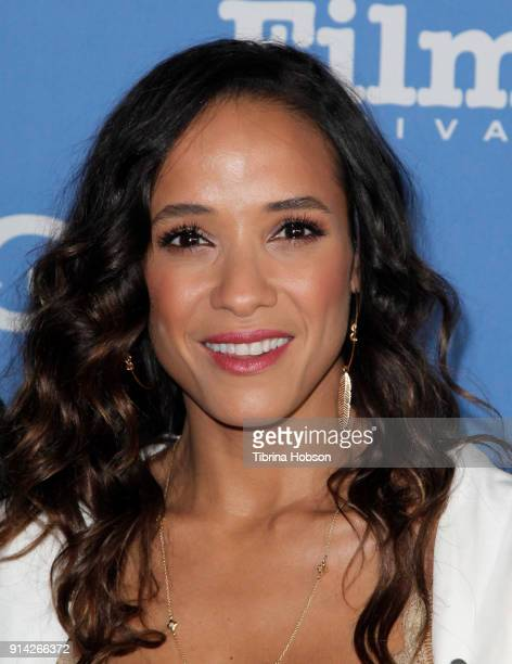 Dania Ramirez attends the 33rd Annual Santa Barbara International Film Festival Virtuosos Award Presentation at Arlington Theatre on February 3 2018...