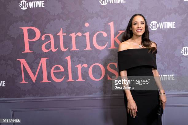 Dania Ramirez attends the Patrick Melrose Series Premiere at Linwood Dunn Theater on April 25 2018 in Los Angeles California