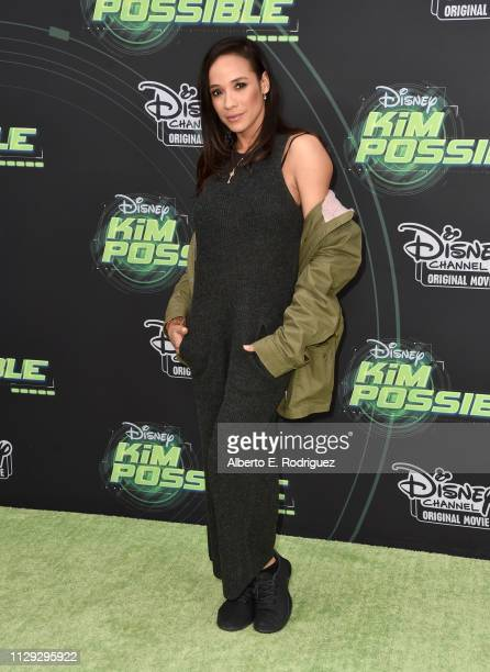 Dania Ramirez attends the premiere of Disney Channel's Kim Possible at The Television Academy on February 12 2019 in Los Angeles California