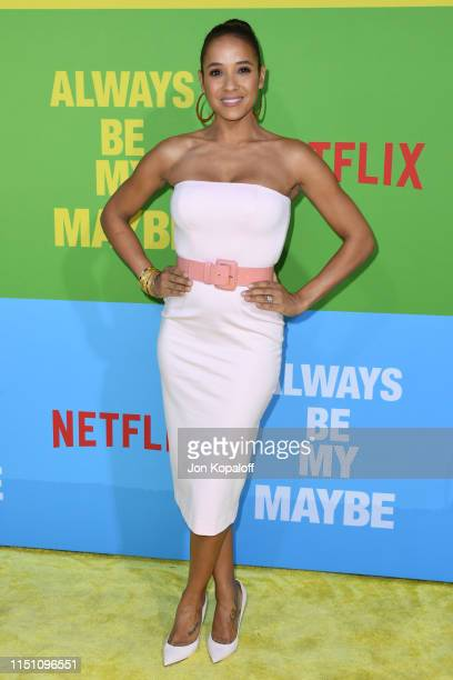 Dania Ramirez attends the Premiere Of Netflix's Always Be My Maybe at Regency Village Theatre on May 22 2019 in Westwood California