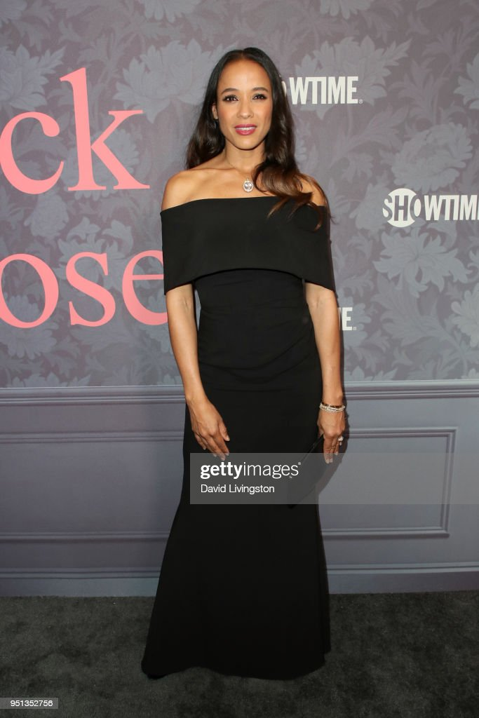 Dania Ramirez attends the premiere of Showtime's 'Patrick Melrose' at Linwood Dunn Theater on April 25, 2018 in Los Angeles, California.