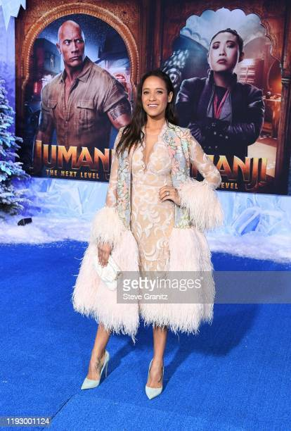 """Dania Ramirez attends the premiere of Sony Pictures' """"Jumanji: The Next Level"""" at TCL Chinese Theatre on December 09, 2019 in Hollywood, California."""