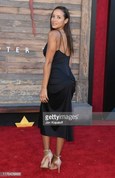 "Dania Ramirez attends the Premiere Of Warner Bros. Pictures' ""It Chapter Two"" at Regency Village Theatre on August 26, 2019 in Westwood, California."