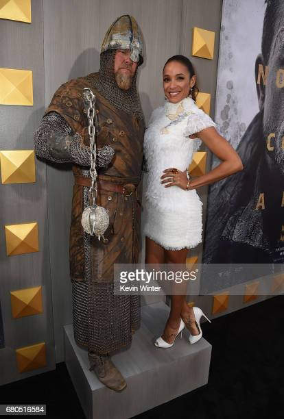 Dania Ramirez attends the premiere of Warner Bros Pictures' 'King Arthur Legend Of The Sword' at TCL Chinese Theatre on May 8 2017 in Hollywood...