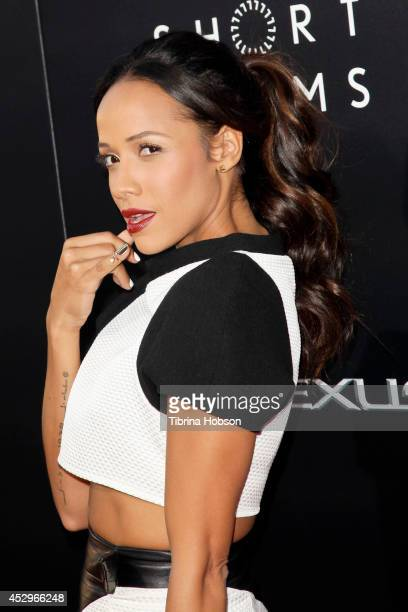 Dania Ramirez attends the Weinstein Company short films presented by Lexus at Regal Cinemas LA Live on July 30 2014 in Los Angeles California
