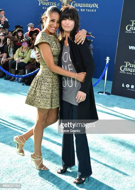 Dania Ramirez Elizabeth Keener arrives at the Premiere Of Disney's Pirates Of The Caribbean Dead Men Tell No Tales at Dolby Theatre on May 18 2017 in...