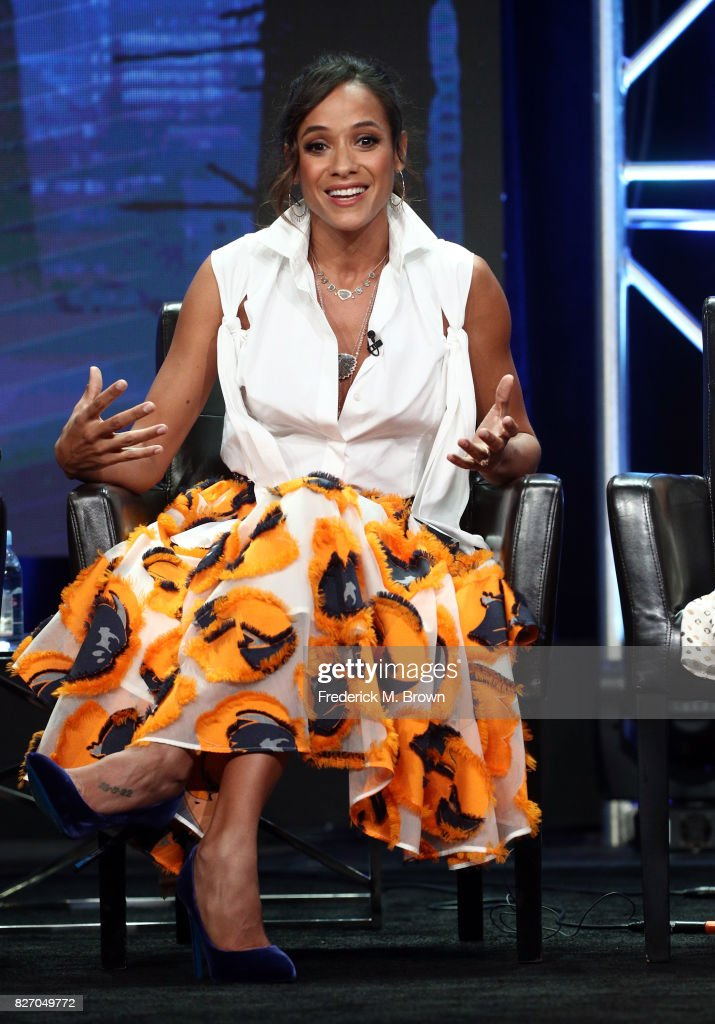 Dania Ramirez of 'Once Upon A Time' speaks onstage during the Disney/ABC Television Group portion of the 2017 Summer Television Critics Association Press Tour at The Beverly Hilton Hotel on August 6, 2017 in Beverly Hills, California.
