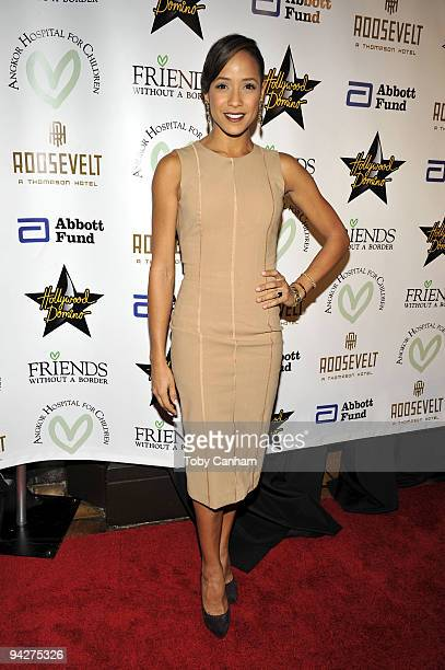 Dania Ramirez poses for a picture at the Friends Without A Border Gala Benefit held at The Roosevelt Hotel on December 10 2009 in Los Angeles...