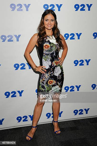 Danica McKellar at 92nd Street Y on October 20 2014 in New York City