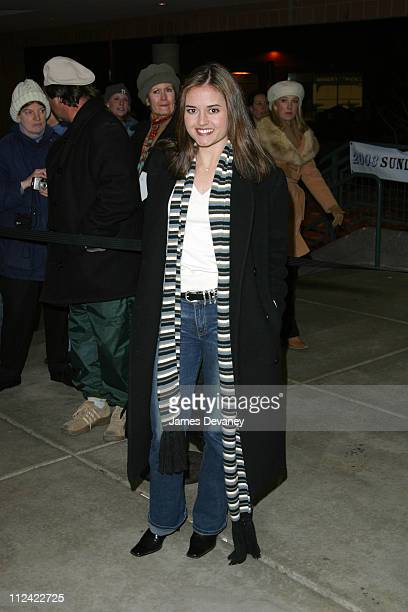 Danica McKellar during 2003 Sundance Film Festival 'People I Know' Premiere at Eccles in Park City Utah United States