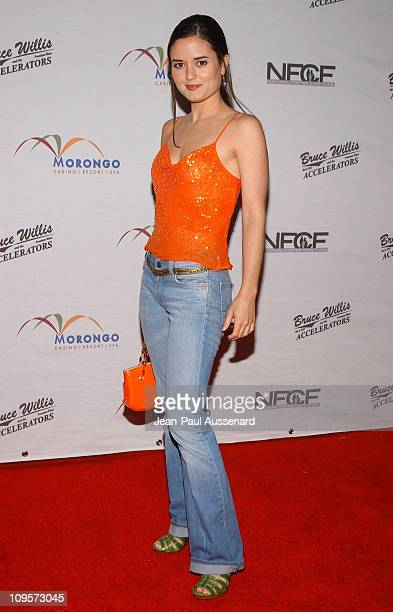 Danica McKellar during Bruce Willis and The Accelerators in Concert at Avalon Hollywood to Benefit the National Foster Care Fund Arrivals at Avalon...