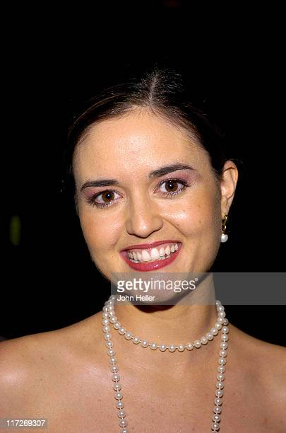 Danica McKellar during Clay Aiken's Bubel/Aiken Foundation to Hold Voices For Change Gala Benefit and Concert, Benefiting Children with Disabilities...
