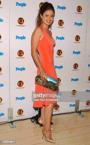 Danica McKellar during Entertainment Tonight and People Magazine Celebrate The 57th Annual Emmy Awards at Mondrian in West Hollywood California...