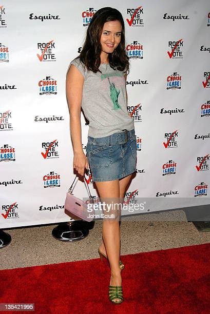 Danica McKellar during Esquire House Hosts Young Hollywood Rock The Vote Party Arrivals at The Esquire House Los Angeles in Beverly Hills California...