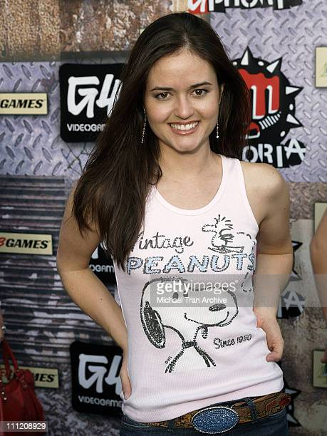 Danica McKellar during GPhoria 2005 The Mother of All Videogame Award Shows Arrivals at Los Angeles Center Studios in Los Angeles California United...