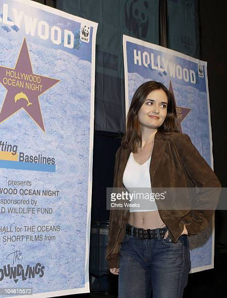 Danica McKellar during Hollywood Ocean Night Presented by Shifting Baselines Arrivals and Inside at Raleigh Studios in Hollywood California United...
