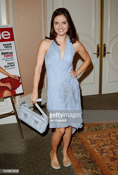 Danica McKellar during Lupus LA InStyle Magazine Present The Old Bags Lupus Luncheon at The Beverly Hills Hotel in Beverly Hills California United...