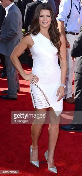 Danica Patrick attends the 2014 ESPY Awards at Nokia Theatre LA Live on July 16 2014 in Los Angeles California