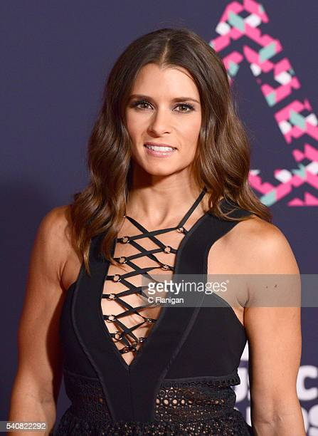 Danica Patrick attends the 2016 CMT Music awards at the Bridgestone Arena on June 8 2016 in Nashville Tennessee