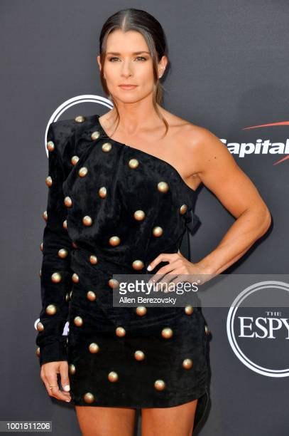 Danica Patrick attends The 2018 ESPYS at Microsoft Theater on July 18 2018 in Los Angeles California