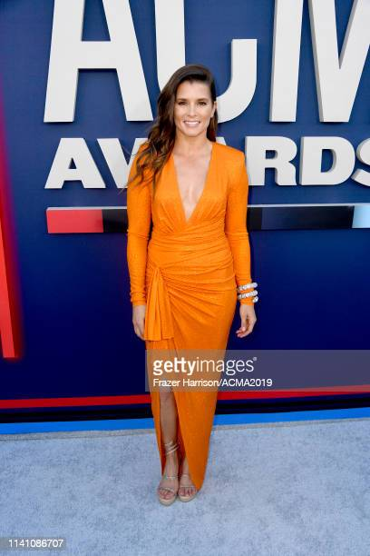 Danica Patrick attends the 54th Academy Of Country Music Awards at MGM Grand Garden Arena on April 07 2019 in Las Vegas Nevada