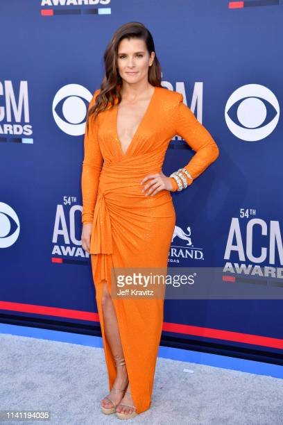 Danica Patrick attends the 54th Academy Of Country Music Awards at MGM Grand Hotel Casino on April 07 2019 in Las Vegas Nevada
