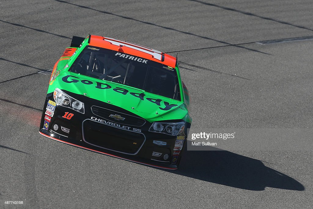 Danica Patrick Driver Of The Godaddy Chevrolet Practices