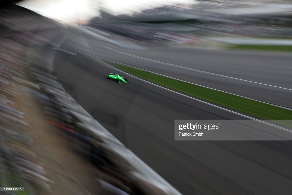 102nd Running of the Indianapolis 500 : ニュース写真
