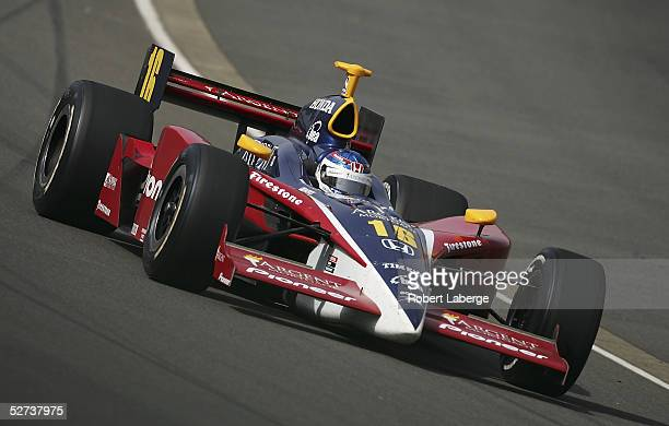 Danica Patrick driver of the Rahal Letterman Racing Pioneer Argent Honda Panoz during the Indy Racing League IndyCar Series Bridgestone Indy Japan...