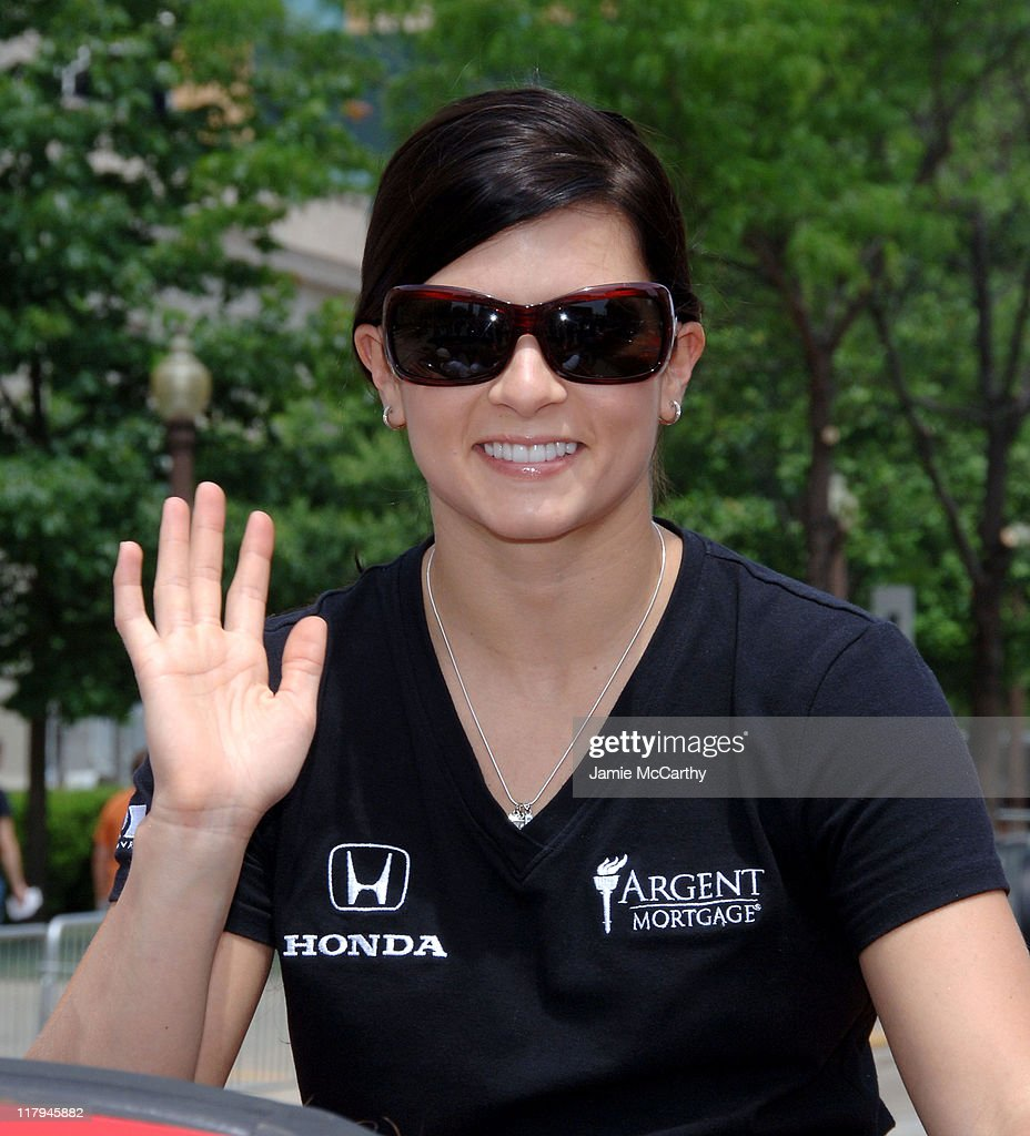 Danica Patrick during 90th Running of The Indianapolis 500 - The Indy 500 All Star Festival Parade in Indianapolis, Indiana, United States.