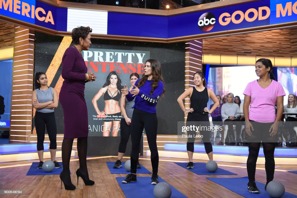 AMERICA - Danica patrick is a guest on 'Good Morning America