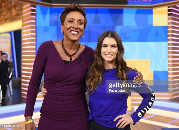AMERICA Danica patrick is a guest on Good Morning America Tuesday January 2 2018 on the Walt Disney Television via Getty Images Television Network...
