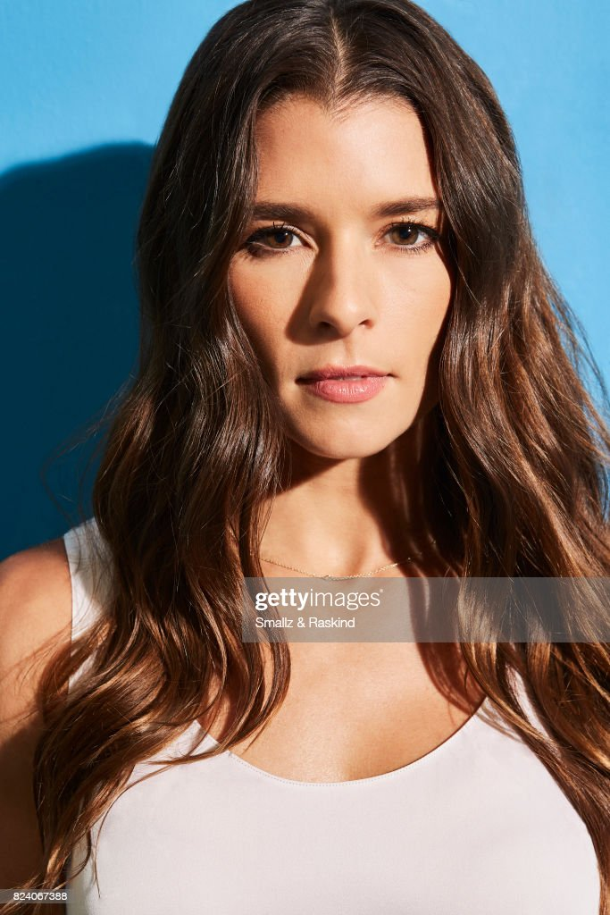 Danica Patrick of EPIX 'Danica' poses for a portrait during the 2017 Summer Television Critics Association Press Tour at The Beverly Hilton Hotel on July 25, 2017 in Beverly Hills, California. (Photo by Smallz & Raskind/Contour by Getty Images).