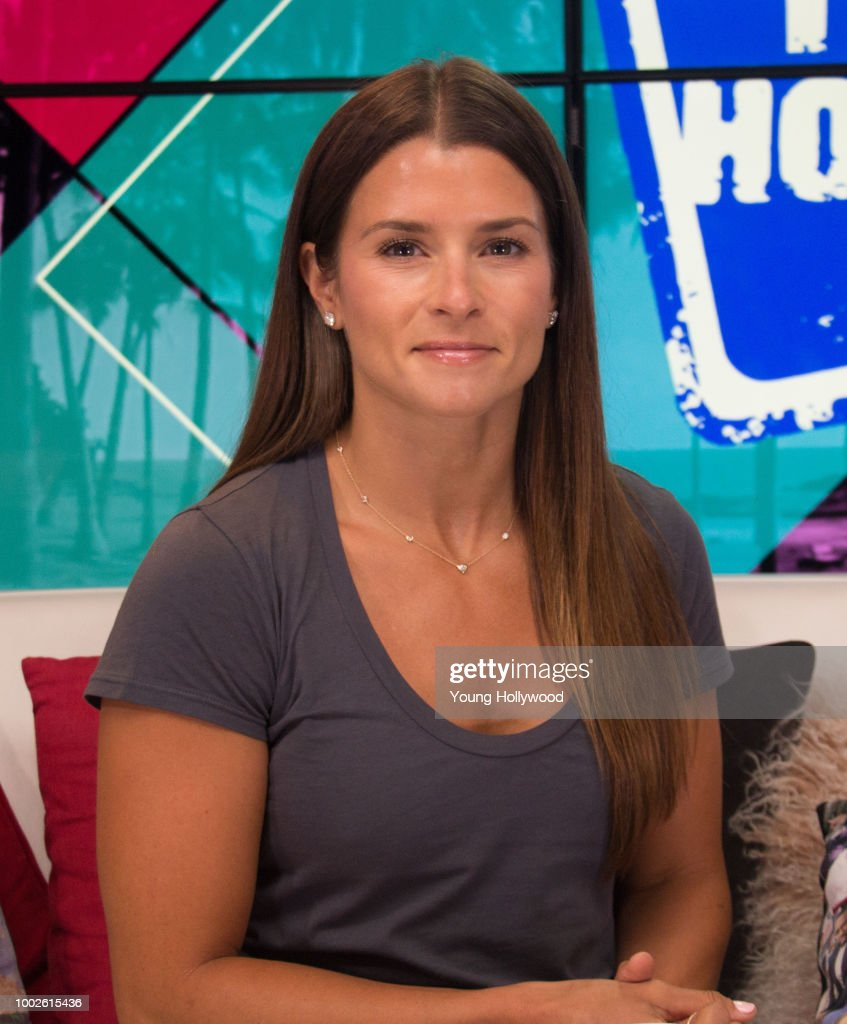 Danica Patrick Visits Young Hollywood Studio