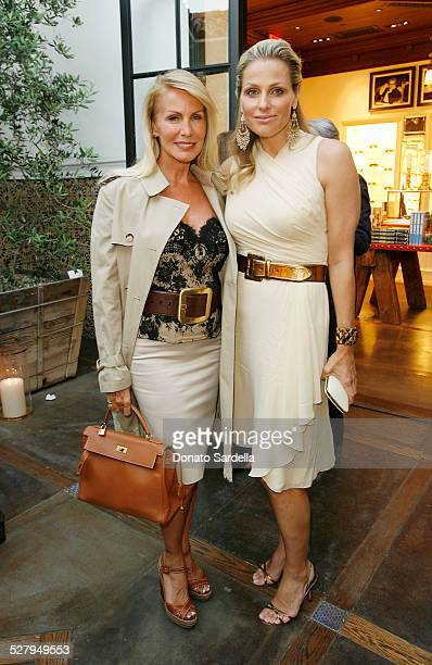 Danica Perez and Jamie Tisch attend the Pamela Fioris book signing presented by Ralph Lauren on April 21, 2009 in Los Angeles, California.
