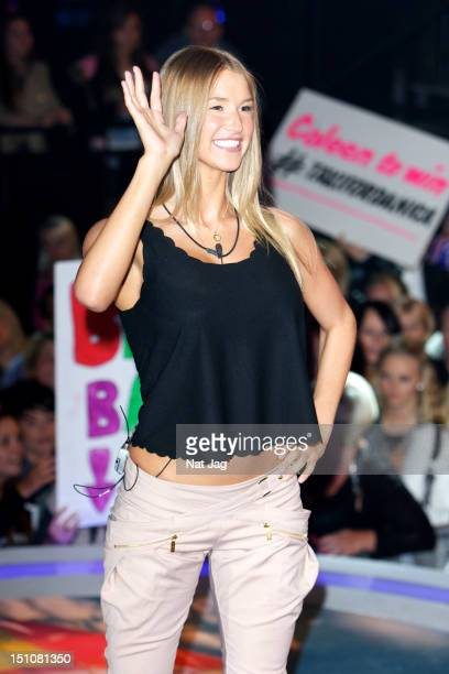 Danica Thrall is the fifth housemate evicted from the Big Brother House at Elstree Studios on August 31 2012 in Borehamwood England
