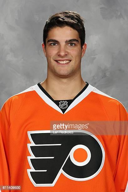 Danick Martel of the Philadelphia Flyers poses for his official headshot for the 20162017 season on September 22 2016 at the Virtua Flyers Skate Zone...