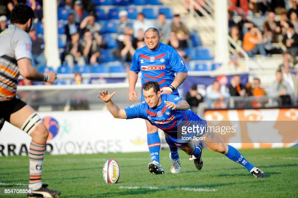 Danie DE BEER Grenoble / Narbonne 25eme journee de ProD2 Grenoble